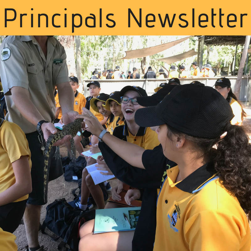 Townsville Grammar School News - Principals Newsletter