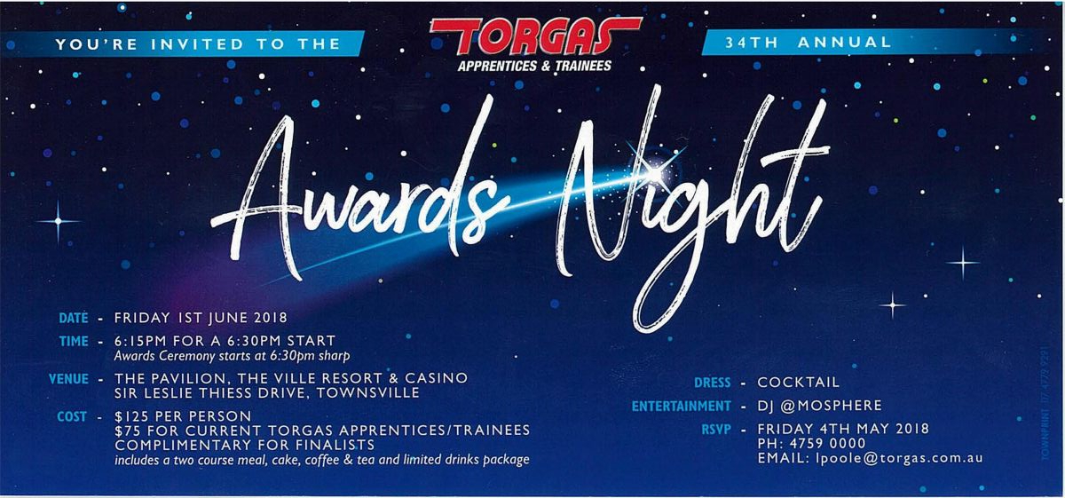 2018 TORGAS Awards Night | TORGAS - The Apprentice and