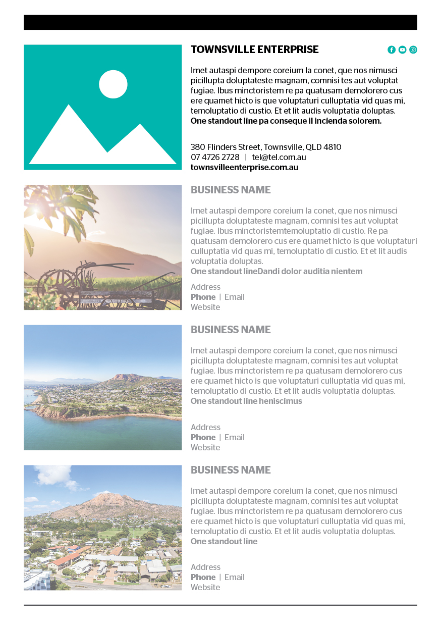 Quarter page advertisement - Holiday & Travel Guide 2020-2022