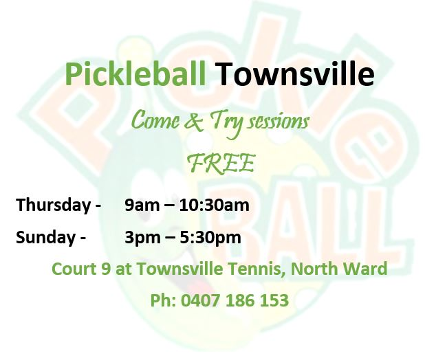 Pickle Ball Flyer