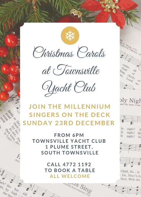 Christmas Carols @ the Yacht Club
