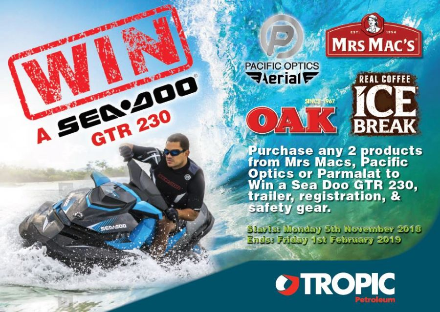 WIN A SEA DOO JET SKI!