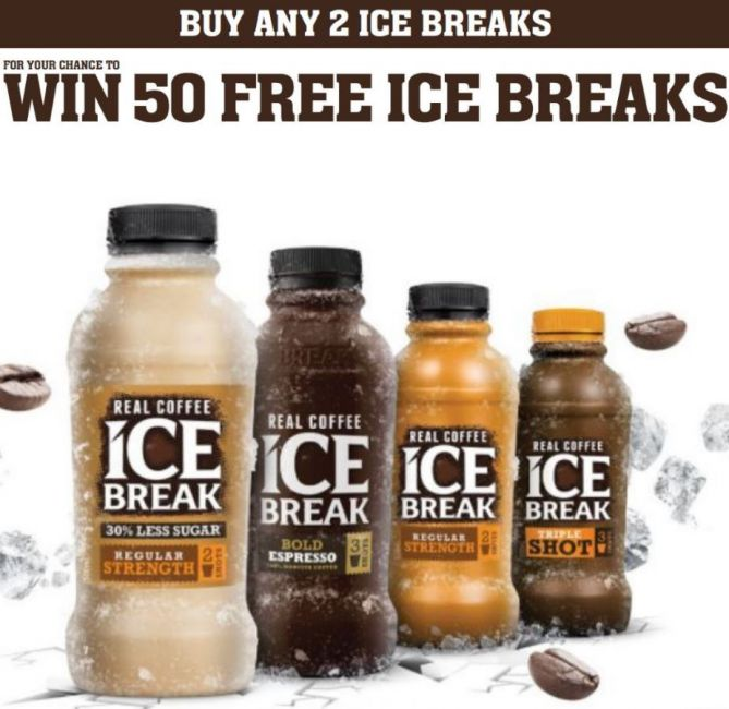 WIN- 50 FREE ICE BREAKS!