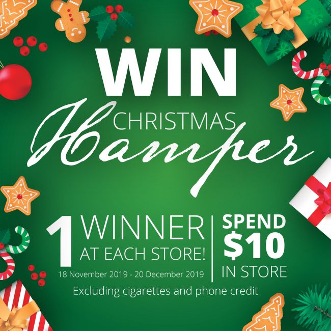 WIN- Christmas Hampers!