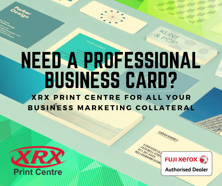 Business Cards at XRX Print Centre