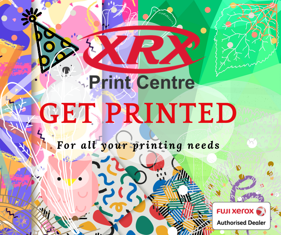 Graphic Design at XRX Print Centre