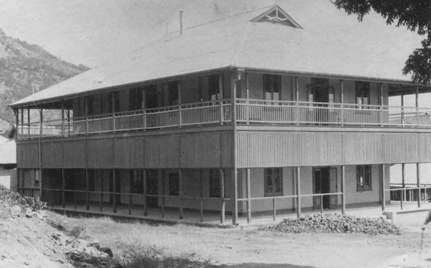 Original AITM building in 1913