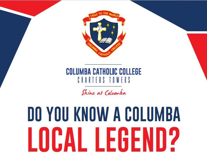 Click here to nominate a Columba Local Legend.