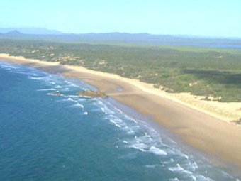 Photo: The Shoalwater Bay area in central Queensland is used for joint military exercises. (ABC TV: File image)