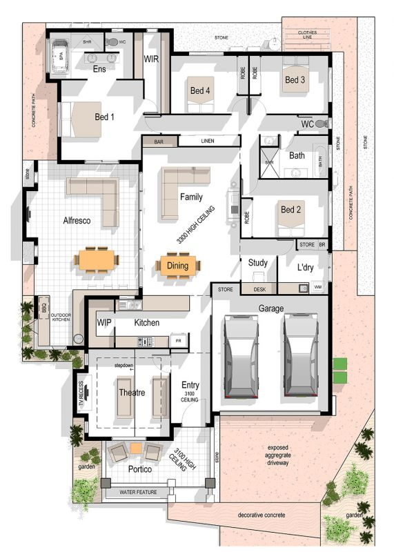 Candice 308 Floor Plan