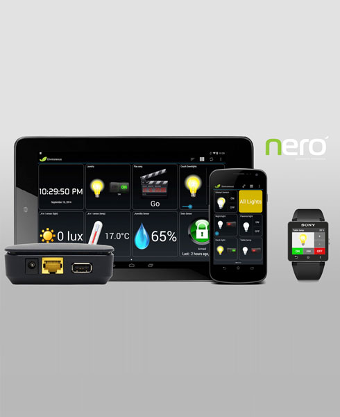 Nero home automation system by Clipsal