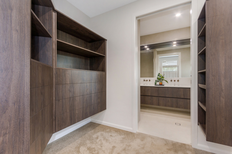 Walk in Robe at the Martin Locke Homes Elliot Springs Display Home