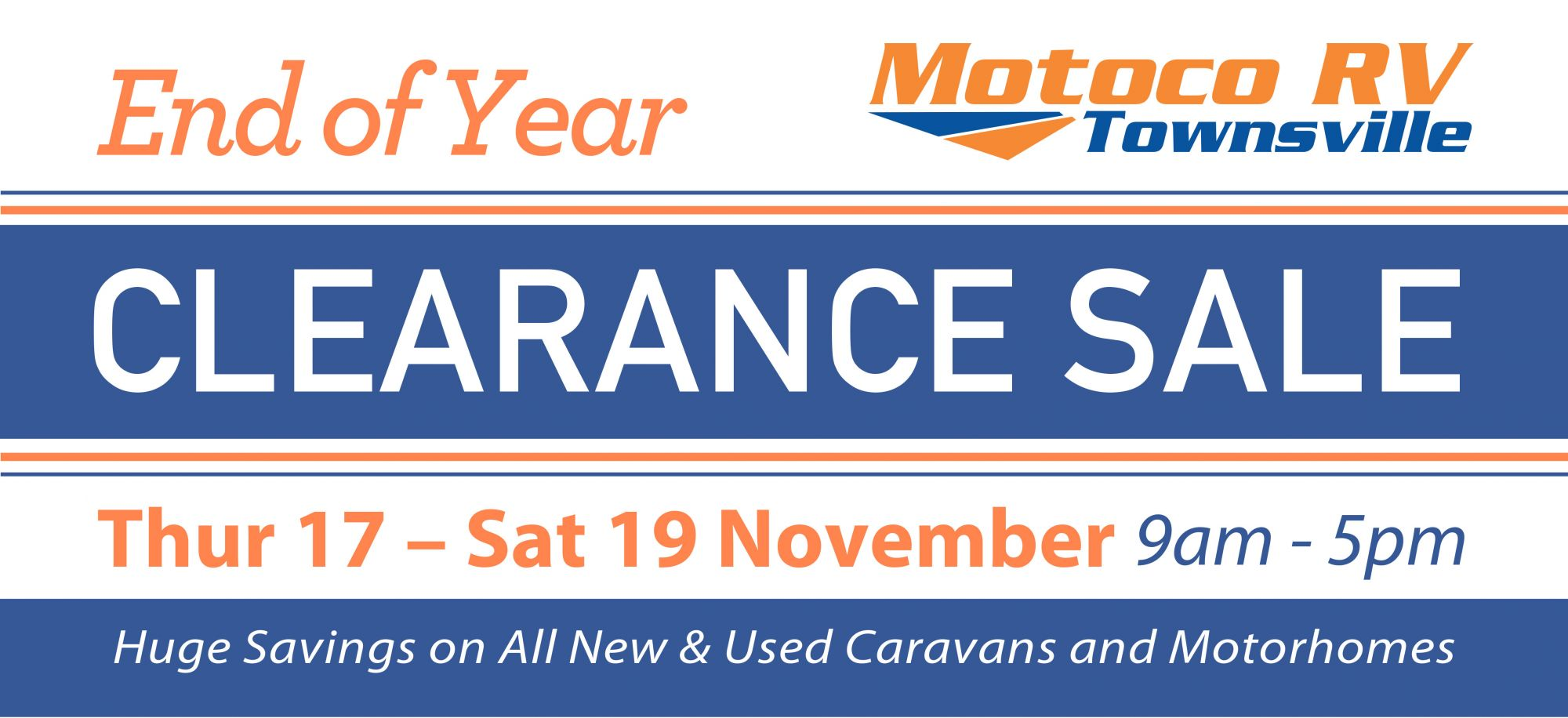 End of Year Clearance Sale