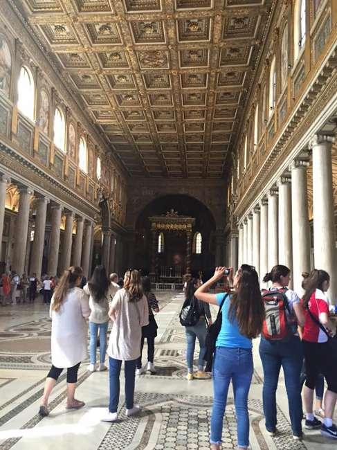 St Andrew's Catholic College | Italy Study Tour