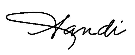 Sandi Bond Chapman signature