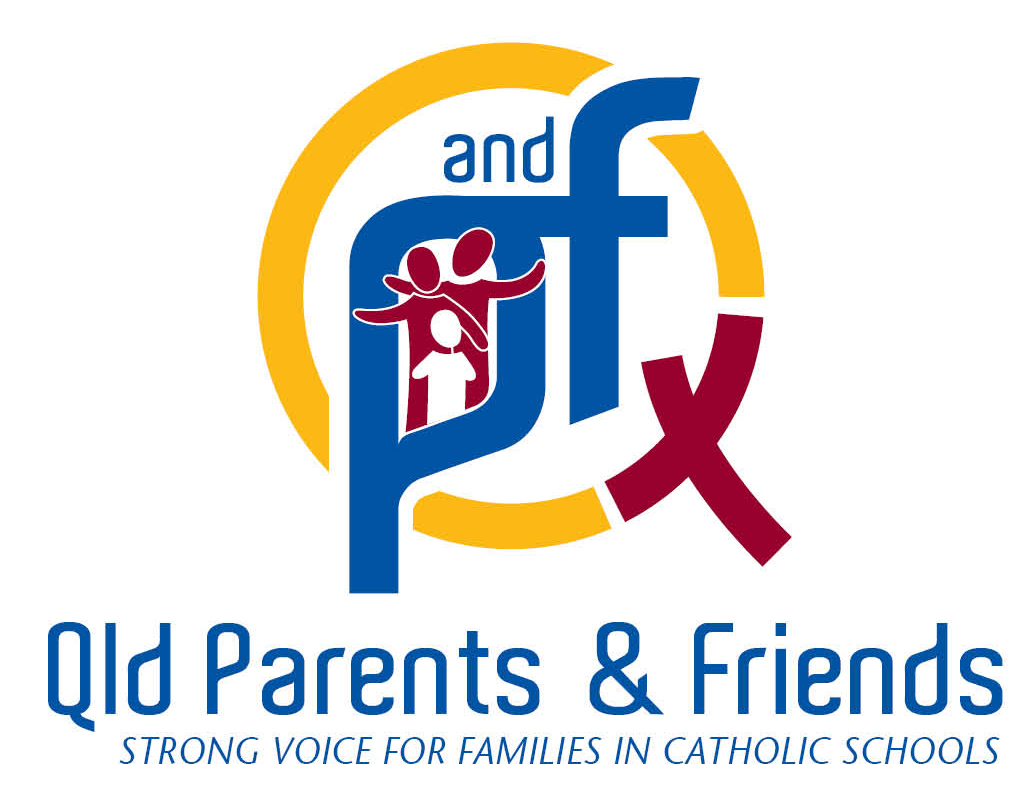 new PandF logo