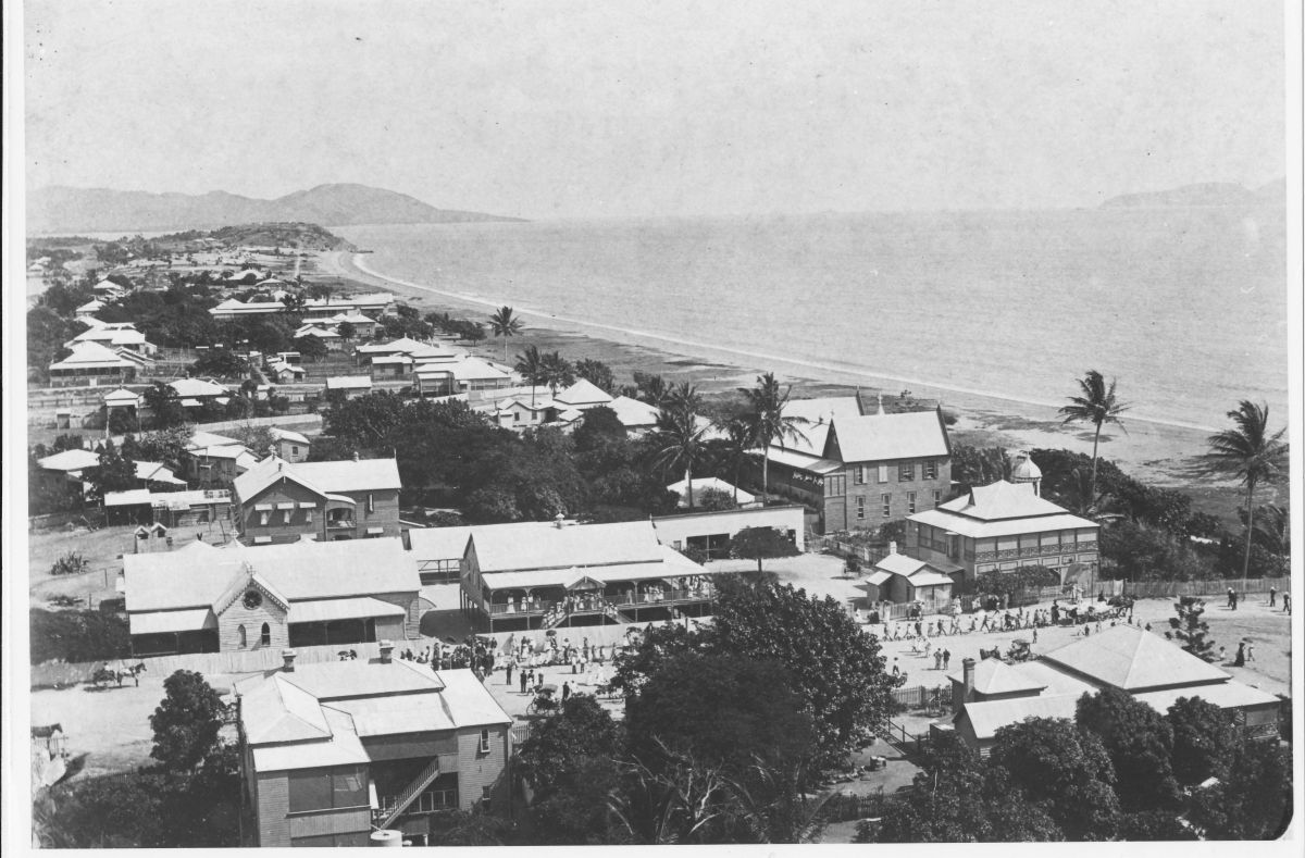 The Strand - Townsville, 1900