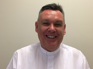 Bishop-elect Tim Harris