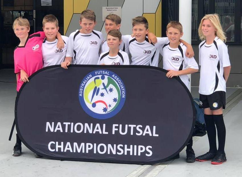 St Catherine's Futsal Team
