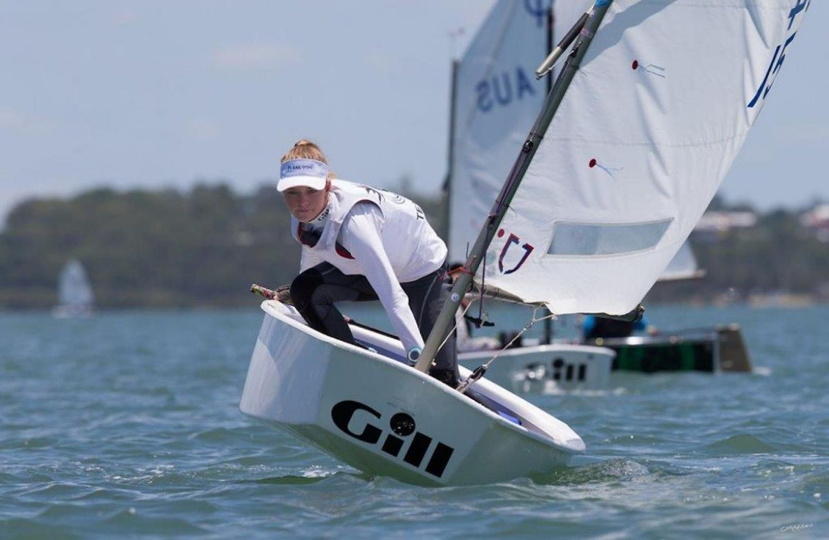 Bruce's bravery at Optimist champs in Hong Kong