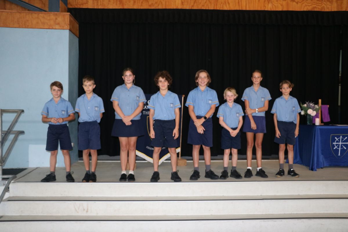 Primary Leaders commissioned