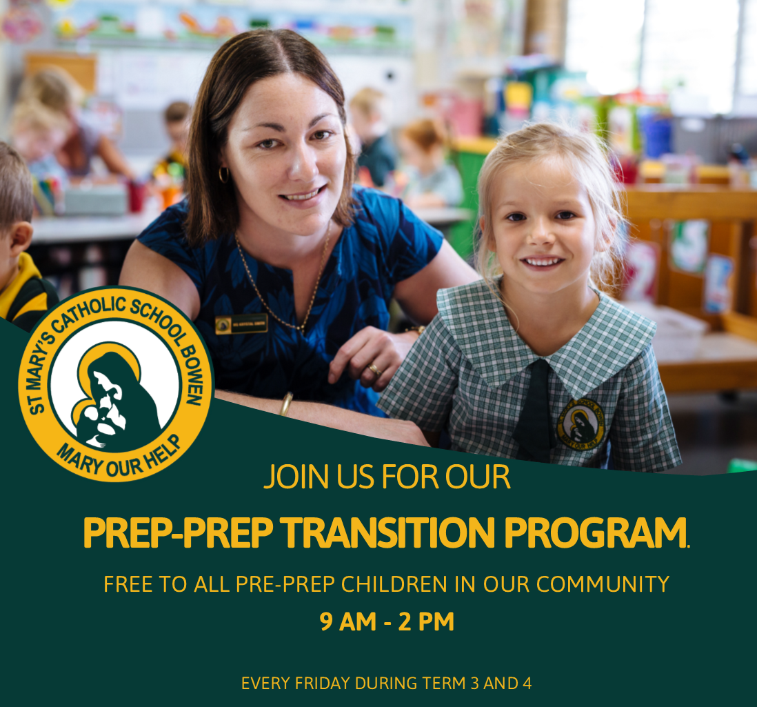 Join us for our Pre-Prep Transition Program!