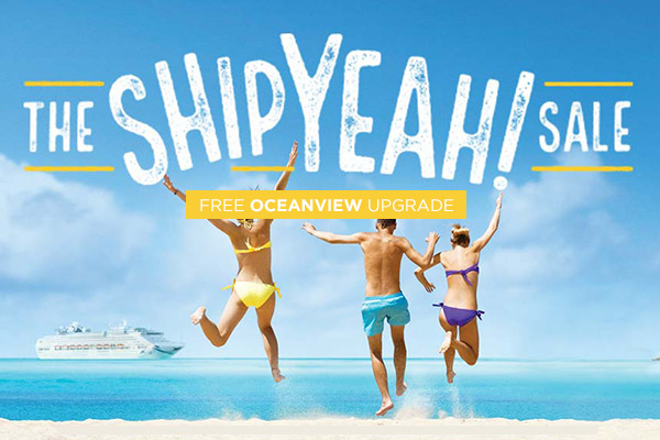 The Oh Ship Sale!   Free Oceanview Upgrade!!
