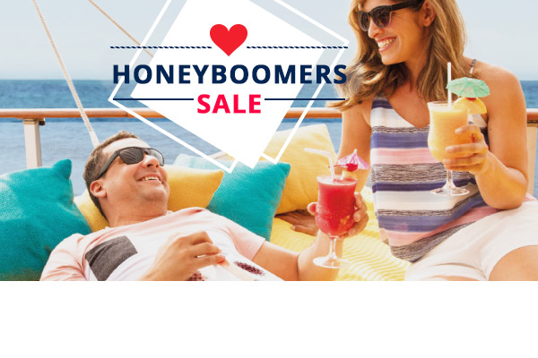 HONEYBOOMERS SALE! Save Up To $800 per Cabin & Reduced Deposits!!