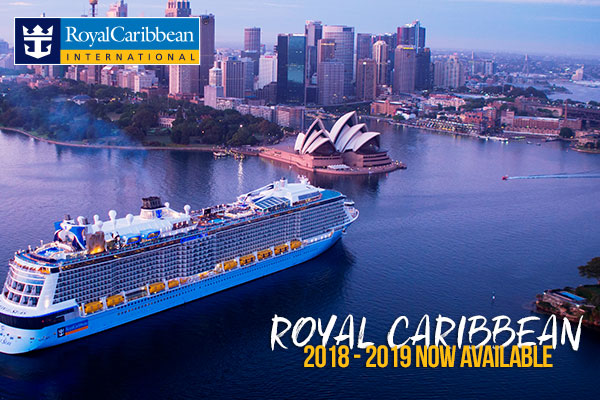 Royal Caribbean 2018 - 2019 Now Available!!