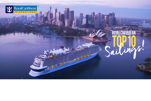 Royal Caribbean! Top 10 Sailings!