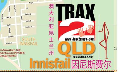 First bilingual map of Innisfail Far North Queensland