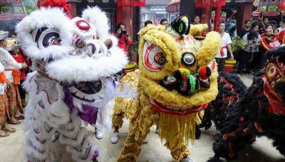 2019 Pig Year -- China Towns around the world will be celebration like this