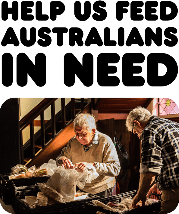 Help us feed Australians in need