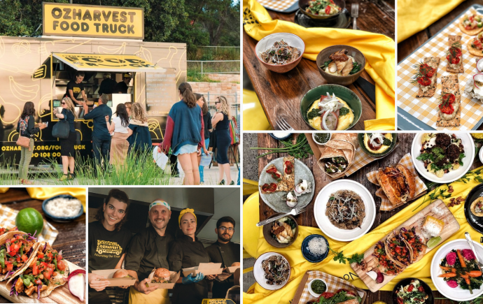 OzHarvest Food Truck Event Catering
