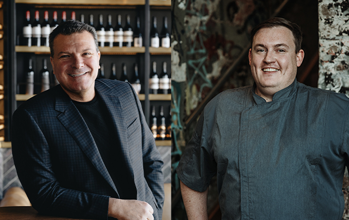 OzHarvest interviews CEO and founder of Seagrass, Bradley Michael and Executive Chef at 6HEAD, Sean Hall,
