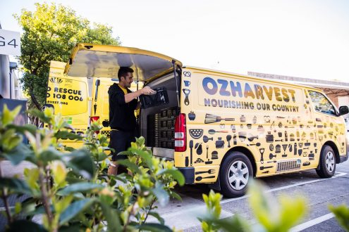 OzHarvest government statement to not forget the charity sector