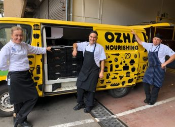 Parliamentary Kitchens - one of our awesome OzHarvest hospitality heroes donating food