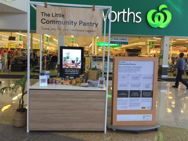 The Little Community Pantry--a great initiative between Noosa Civic Shopping Centre and OzHarvest