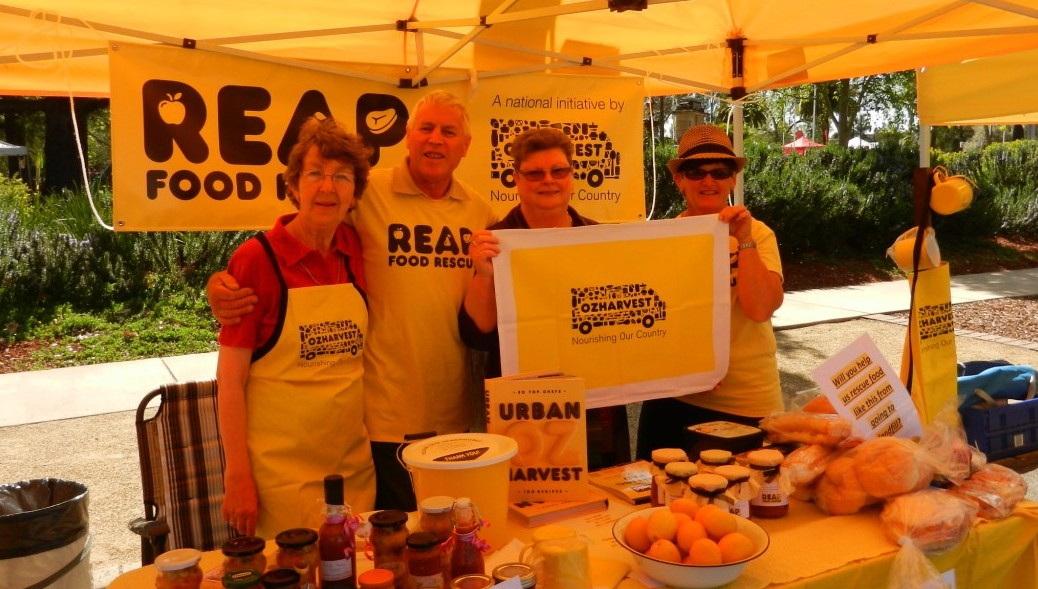 Sunny volunteers in yellow at The Spring St Festival