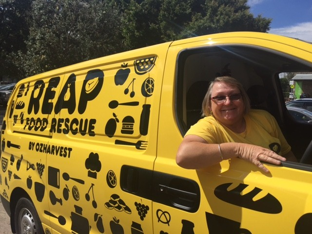 If you spot our van out rescuing food please wave and say Hi!