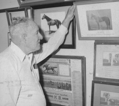 Racing historian Frank Stewart