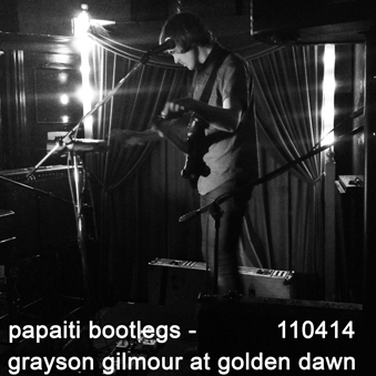 Grayson gilmour live at golden dawn 110414