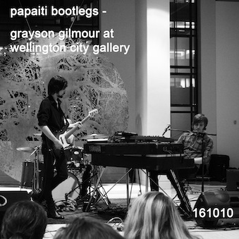 Grayson gilmour live at wellington city gallery 141010