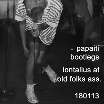 Lontalius live at old folks ass 180113