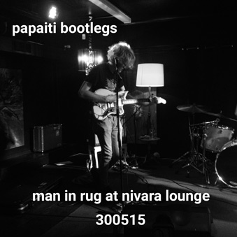 Man in rug live at nivara lounge 300515