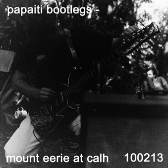 Mount eerie live at calh 100213