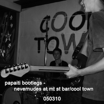 Nevernudes live at mt st bar cool town 050310