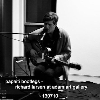 Richard larsen live at adam art gallery 130710