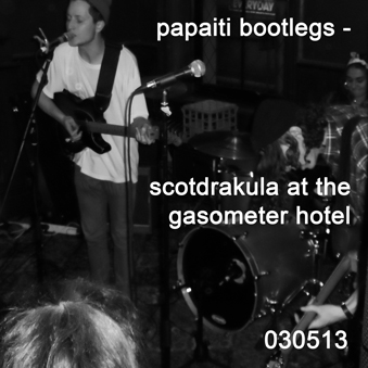 Scotdrakula live at the gasometer hotel 030513