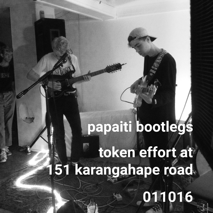 Token effort live at 151 karangahape road 011016